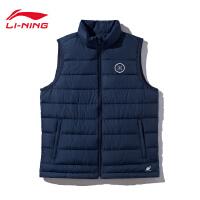 李宁羽绒马甲男士2019新款韦德系列立领冬季上衣鹅绒运动服