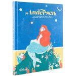 安徒生插画童话故事Hans Christian Andersen英文原版儿童图书
