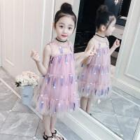 女童连衣裙夏装儿童背心裙洋气夏季公主裙中大童裙子