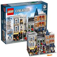 【当当自营】LEGO乐高 创意creator系列 10255 城市中心集会广场
