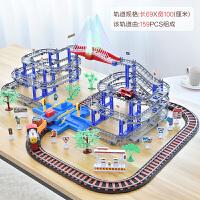 拖马斯小火车套装电动轨道玩具男孩儿童轨道车火车男童益智3-5岁6