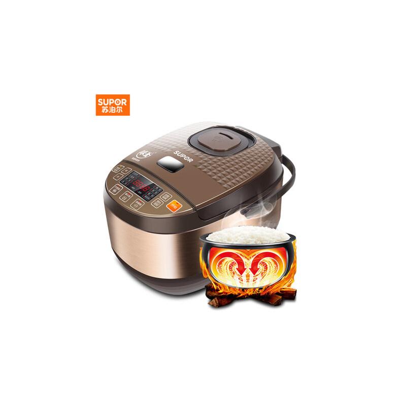 SUPOR/苏泊尔 CFXB50FC8155-75智能电饭煲锅5L正品家用3-4-6-8人 支持* 创新三种米饭 艺术感设计