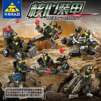 开智6月新品 7701核心装甲6款系列儿童男孩塑拼插积木玩具节日礼新