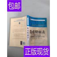 [二手旧书9成新]股市晴雨表 /(美)威廉・彼得・汉密尔顿(William