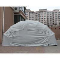 车库 半自动防雨家用车棚移动折叠车库伸缩停车棚户外汽车遮阳棚帐篷