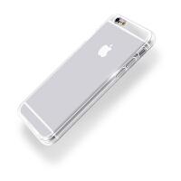 【全国包邮】hidog 苹果iPhone6手机壳4.7简约纯透明软胶6s plus保护套全包防摔