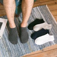 男士春棉袜短袜防臭低帮运动袜四季薄款浅口隐形船袜吸汗
