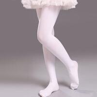 儿童舞蹈袜连裤袜白色春秋季女童芭蕾连脚袜厚练功裤长筒丝袜