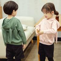 男童休闲卫衣2018春装新款儿童装套头长袖数字上衣宝宝韩版外套潮