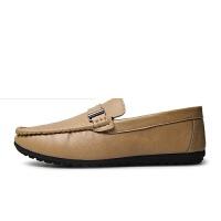 夏季男士豆豆鞋套脚懒人鞋驾车男鞋英伦男鞋男鞋