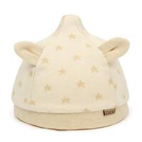 初生儿帽子男女宝宝套头帽胎帽棉卡通防风帽小孩棉帽