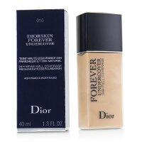 迪奥 Christian Dior 凝脂恒久无痕粉底液 24h持妆遮瑕 控油 -010 象牙白Ivory(40ml)