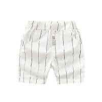 男童短裤 2018新款夏装儿童条纹中裤童装宝宝休闲五分裤子潮