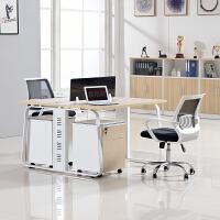 上海职员办公桌屏风员工位人现代简约办公家具桌椅四人位卡座