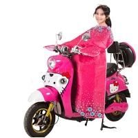 电动车防晒挡风被电瓶车摩托车夏季连体款遮阳罩