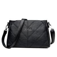 单肩斜挎包手提包女包夏天新款韩版时尚潮简约贝壳女士小包包