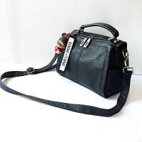 手提包女2017新款潮韩版百搭斜挎单肩个性简约大气时尚波士顿包包