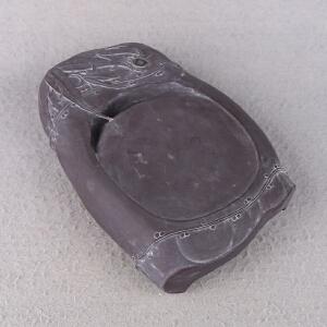 高要区端砚协会副会长 钟湛良作品《君子清风》砚 坑仔岩 雕刻精细 栩栩如生