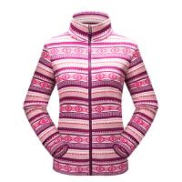 秋冬户外女装女士抓绒衣摇粒绒开衫外套拉链休闲冲锋保暖上衣