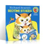 顺丰发货 进口英文原版 Richard Scarry's Bedtime Stories 理查德 斯凯瑞的睡前故事 带