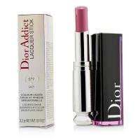 迪�W Christian Dior 魅惑釉唇膏 黑管漆光 固�w唇釉 抖音同款 -577混日子(3.2g)