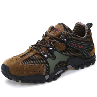新款夏季男士户外休闲登山鞋男式透气百搭防滑耐磨运动鞋潮流时尚男鞋