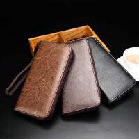 茉蒂菲莉 男士钱包 外贸男士手抓包长款手拿包软皮休闲钱包