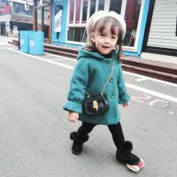 2号直播宝宝超柔软双层夹棉加厚羊毛绒呢大衣小童外套上衣冬