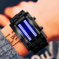 男士创意个性中学生手表女led时尚潮流情侣腕表 防水电子表