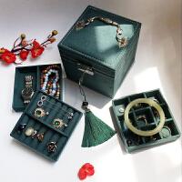 物有物语 首饰盒 复古欧式饰品盒公主简约小号收纳盒手饰盒珠宝盒化妆盒