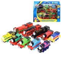 托马斯和朋友 之十辆装团队合作礼盒托马斯合金小火车玩具套装