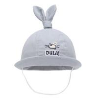 儿童遮阳帽子 卷边盆帽宝宝防晒遮阳帽小孩渔夫帽太阳帽