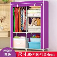 简易衣柜 折叠加固布衣柜 组装大号布衣橱 整理收纳柜