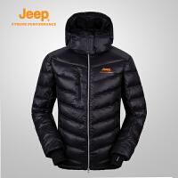 【特价清仓】Jeep/吉普 男士户外运动休闲羽绒服保暖登山服J632102003