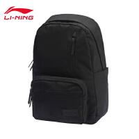李宁双肩包男包女包2018新款运动时尚系列背包学生书包电脑包运动包ABSN186