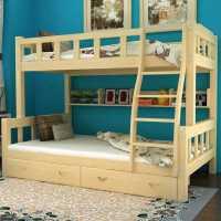 【满减优惠】实木高低床上下床成人床分体床子母床双层床儿童床母子床上下铺床
