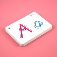 26英语字母学习卡片标准手写体字母儿童学习卡片字母早教卡