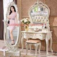 欧式梳妆台卧室现代简约小多功能飘窗网红化妆台化妆桌化妆柜 组装