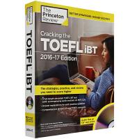 华研原版 突破新托福考试 Cracking the TOEFL iBT 英文原版考试指南书 2017年适用