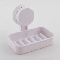 浴室强力吸盘肥皂盒 沥水香皂盒肥皂架 白色