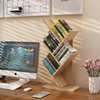 包邮桌上树形小书架儿童简易置物架学生桌面书架办公储物架收纳架