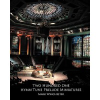 【预订】201 Hymn Tune Prelude Miniatures: For Organ, Piano or K