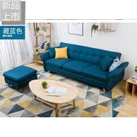 多功能折叠懒人三人沙发床布艺小户型北欧家具现代简约定制 1.8米-2米