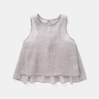女童衬衫夏季2018新款韩版3岁儿童衬衣4薄款上衣夏装5女宝宝童装6