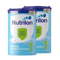 【1段】保税区发货 荷兰牛栏Nutrilon诺优能 婴幼儿奶粉 一段(0-6个月) 800g*2罐 海外购