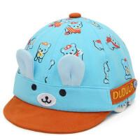 男女童遮阳帽子宝宝卡通鸭舌帽儿童太阳帽婴幼儿棒球帽