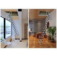 壁挂式阁楼伸缩楼梯别墅复式隐形家用室内折叠铁艺梯子小公寓