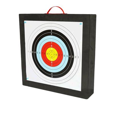 射箭弓箭箭靶反曲通用靶子墙靶架户外竞技射击运动配件 75*75*35cm 送靶纸靶钉拔箭器 发货周期:一般在付款后2-90天左右发货,具体发货时间请以与客服协商的时间为准