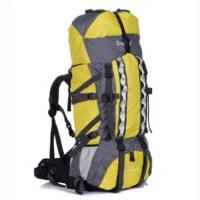 时尚简约户外旅行包80+20L大容量户外登山包旅游双肩背包野营背囊透气舒适防水