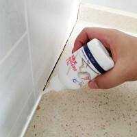 玻璃胶瓷砖美缝剂白色 玻璃胶防水防霉 勾缝剂地板砖缝隙填缝剂玻璃胶水性配方